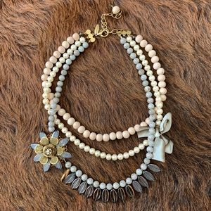 Anthropologie layered necklace